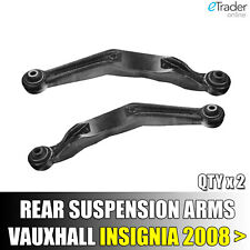 FOR VAUXHALL INSIGNIA 2008> REAR AXLE UPPER LEFT RIGHT SUSPENSION CONTROL ARMS