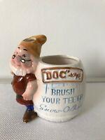 "1960's Walt Disney Production ""Snow White seven dwarfs "" DOC toothbrush holder"