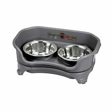 Neater Feeder Express Elevated Dog and Cat Bowls - Raised Pet Dish -Stainless.