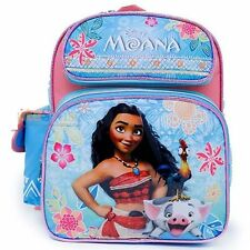 """Disney Moana School Backpack 12"""" inches Book Bag - Licensed Product for Girls"""