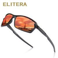 ELITERA Polarized Sunglasses Men Women Sport Eyewear Square Colorful Sun Glasses