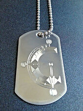 Chrono Trigger Stainless Steel Dog Tag Necklace Video Game chrono trigger clock