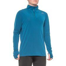 adidas Men's Runner Long Sleeve Shirt with Zip - L