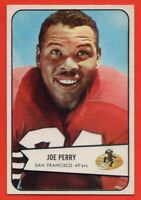 1954 Bowman #6 Joe Perry EX-EXMINT+ MARKED San Francisco 49ers FREE SHIPPING