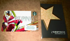 2017 STARBUCKS PILIPINAS Card with sleeves PHILIPPINES NEW RELEASED pin intact