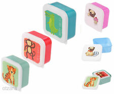 Animals Plastic Lunchboxes & Bags for Children