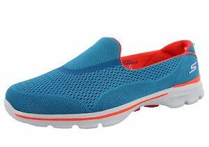 WOMEN'S SKECHERS GO WALK 3 STRIKE 13994 SLIP ON WALKING SHOES