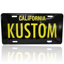 MOONEYES Kennzeichen Californien Kustom license plate vintage style beach surf