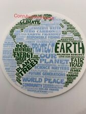 Earth Environmentalist  Sticker ~ Water Bottle ~ Laptop Environment Vinyl Decal