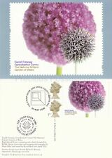 GB PHQ CARDS USED REAR FDI 2000 BOTANIC GARDEN OF WALES LABEL D18 STAMP SHOW PMK