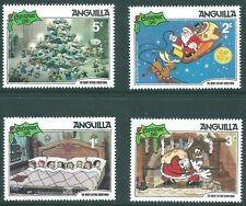 BEAUTIFUL ANGUILLA 1981  XMAS STAMPS  MINT