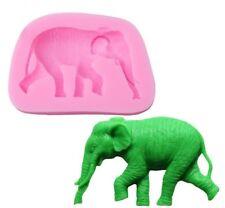 Elephant Silicone Mould for Sugar Craft, Fondant, Cake Decorating ,Baking