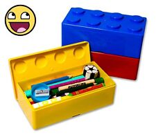 Building Brick Storage Boxes (Set of 3)