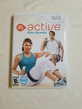 Nintendo Wii Active More Workouts  complete CIB