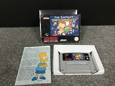 The Simpsons Bart's Nightmare Super Nintendo Boxed & Complete SNES PAL UK (01)