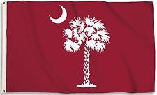 South Carolina Gamecocks 3' x 5' Flag (Palmetto on Garnet) NCAA Licensed