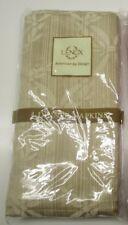Lenox Chelsea Floral set of 4 dinner napkins in gold/tan