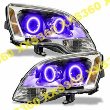 ORACLE Halo 2x HEADLIGHTS for GMC Acadia 08-12 PURPLE LED Angel Eyes