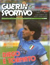 GUERIN SPORTIVO=N°7 1991=DIEGO E' TORNATO MARADFONA COVER=DETARI=ANDERLECHT