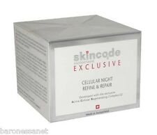 SKINCODE  EXCLUSIVE CELLULAR NIGHT REFINE & REPAIR 50 ml