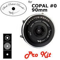 Skink Pinhole Pancake Pro Kit Lens 90mm - Copal #0 Prontor shutter 4x5 5x7 8x10