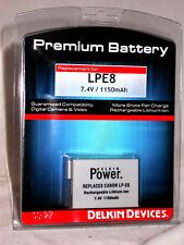 Delkin Premium Battery Canon LPE8 LP-E8 Rebel T2i