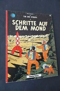 TINTIN Schritte auf dem mond Hergé en allemand
