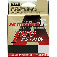 Duel Pe lines Armored F + Pro azide-rockfish 150m 0.06: Light Pink H4091