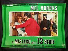 FOTOBUSTA CINEMA - IL MISTERO DELLE 12 SEDIE - MEL BROOKS - 1970 - COMMEDIA - 02