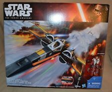 Poe's Dameron X-Wing Fighter And Action Figure Star Wars VII The Force Awakens 7