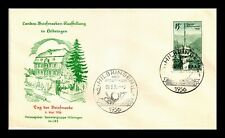 DR JIM STAMPS TELECOMMUNICATION TOWER FIRST DAY ISSUE SAAR GERMANY COVER