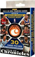 NBA Panini 2019-20 Chronicles Basketball Exclusive Trading Card HANGER Box - NEW