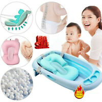 NEW Baby Bath Tub Pillow Pad Air Cushion Floating Seat Infant Newborn Anti-slip