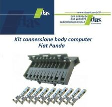 KIT CONNETTORE E TERMINALI 10 VIE PER BODY COMPUTER FIAT PANDA 169