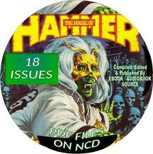 HOUSE OF HAMMER VINTAGE COMIC BOOKS - 18 ISSUES - PDF FILES - ON CD - HORROR