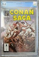 Conan Saga #12 CGC 9.4 Marvel Comics 1988