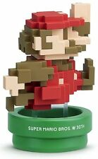 Nintendo Super Smash Bros Amiibo 30th Classic Color Mario WiiU 3DS US Version