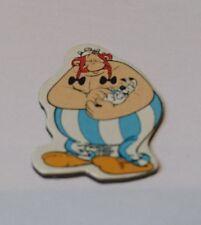 """Series juguetes """"asterix en América"""" 1997/98 magnetpin Obelix Francia"""