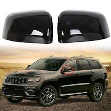 Black Mirror Covers Trim For 2011-2019 2020 Jeep Grand Cherokee & Dodge Durango