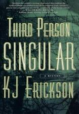 Third Person Singular: A Mars Bahr Mystery, Kj Erickson, Good Condition, Book