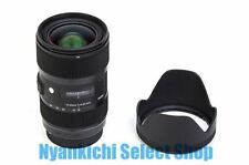 SIGMA 18-35mm F1.8 Constant DC HSM Standard Zoom Lens for Canon APS-C from Japan