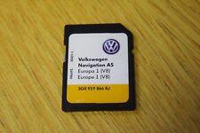 GENUINE VW DISCOVER MEDIA AS MIB2 SAT NAV NAVIGATION SD CARD V8 MAPS 3G0919866BJ