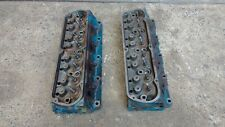 GENUINE FORD V8 WINDSOR 302 351 CYLINDER HEADS MUSTANG FAIRLANE FALCON - PAIR