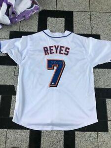 Jose Reyes Autographed CUSTOM New York Mets Jersey