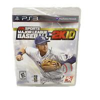 PS3 Major League Baseball 2K10 1999-2009 Tenth Anniversary Video Game 2010 NEW