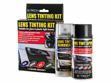 E-Tech Vehicle Headlight Tail Side Light Lens Tinting Kit Spray & Remover- Smoke