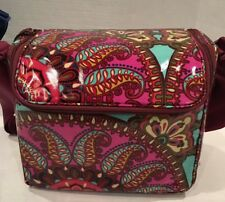 NWT VERA BRADLEY STAY COOLER INSULATED LUNCH FOOD BAG TOTE MULTI COLORS 14316