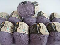 500g (34€/kg) Schachenmayr Merino Wolle Extrafine Silky Soft 120 - Fb547 flieder