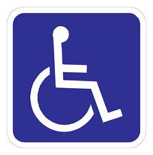 Handicap Parking Symbol - 18 x 18 A Real Sign. 10 Year 3M Warranty.