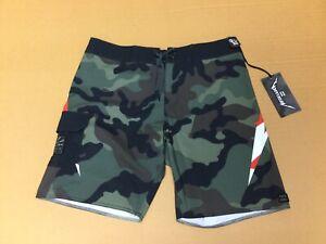 Billabong Metallica Andy Irons Rising Sun Board Shorts/Swim Size 32 - NWT